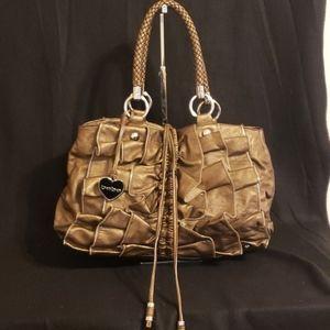 Metallic BeBe Handbag
